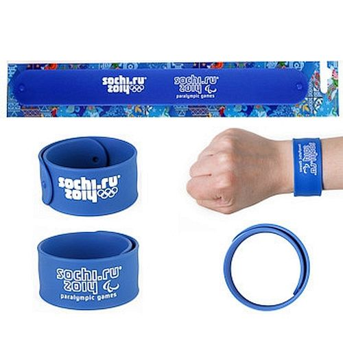 Силиконовый браслет «Сочи 2014» купить браслет пандора в интернет магазине оригинал