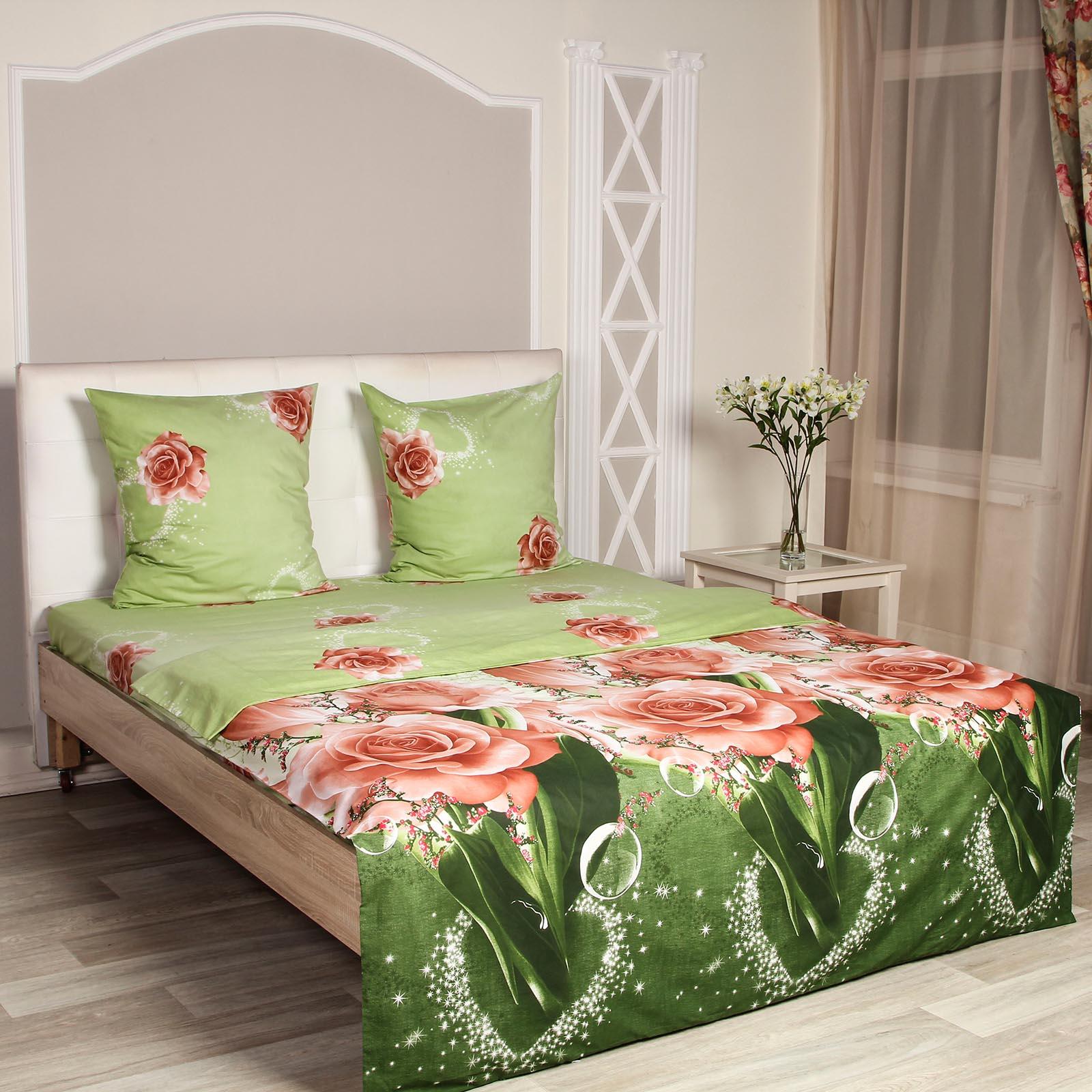 Комплект постельного белья «Ажурные розы»