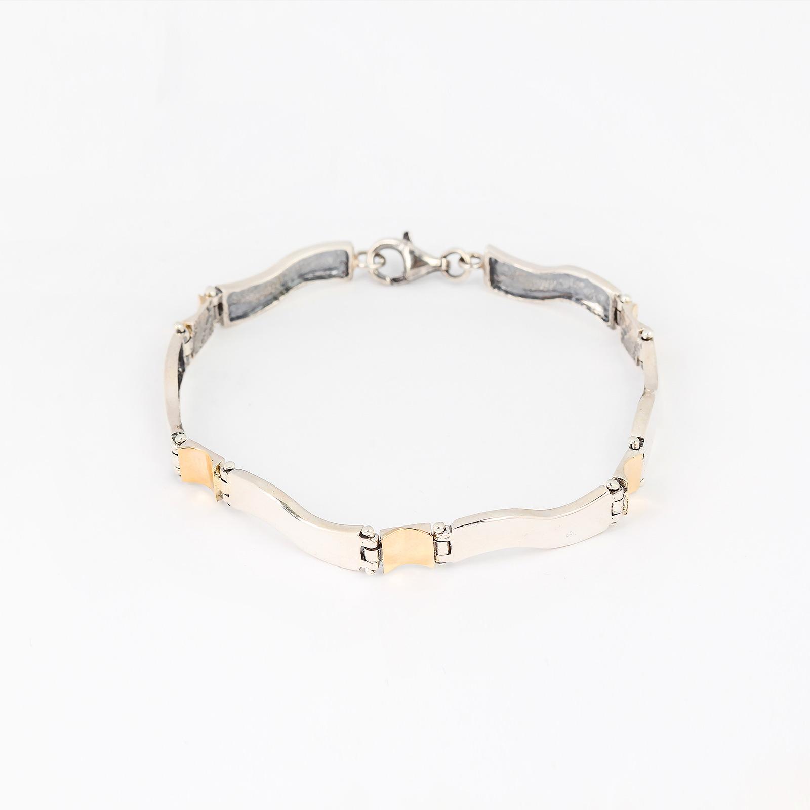 Серебряный браслет «Венец творения»