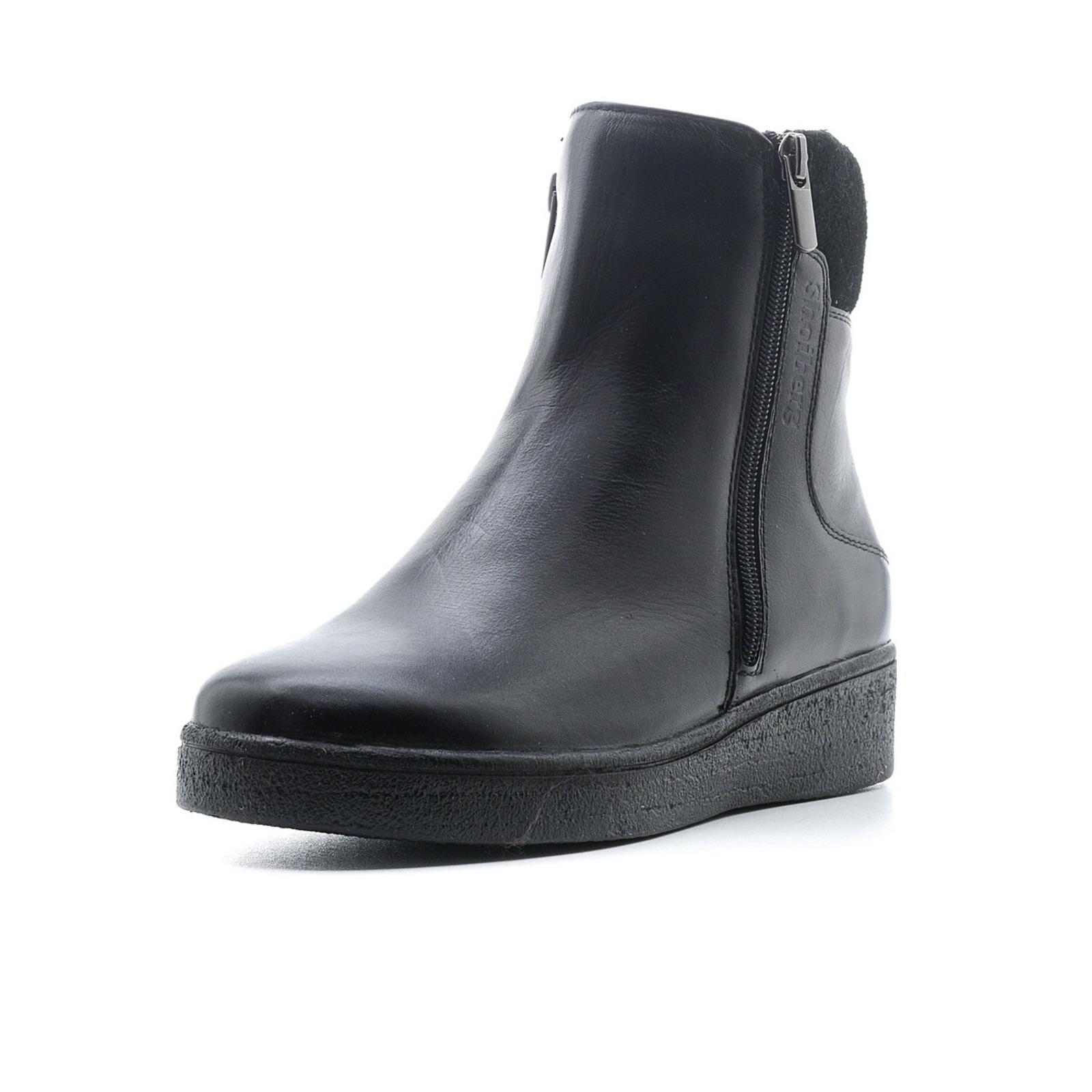 Ботинки высокие со вставкой на голенище обувь shoiberg