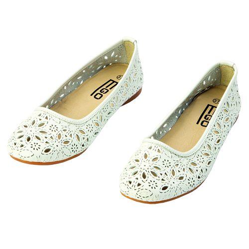 Летние туфли «Цветок»