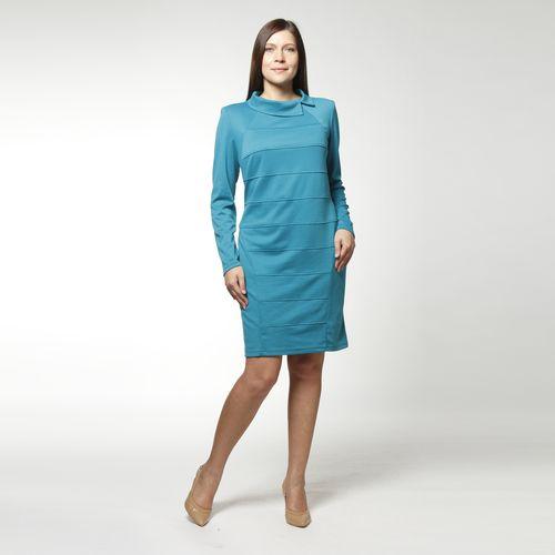 Элегантное платье с отложным воротником