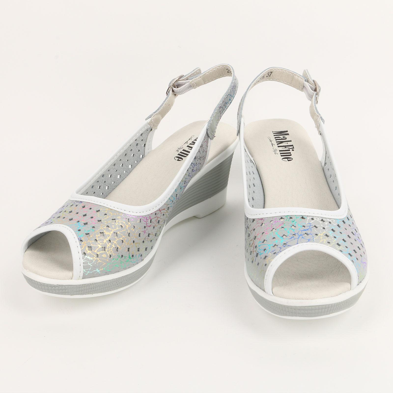 Туфли женские с точечной перфорацией