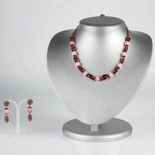 Комплект украшений «Суданская роза»