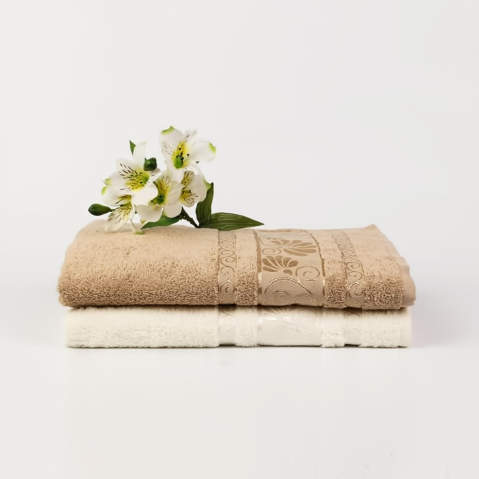 Набор из 2-х полотенец «Цветочный рай»
