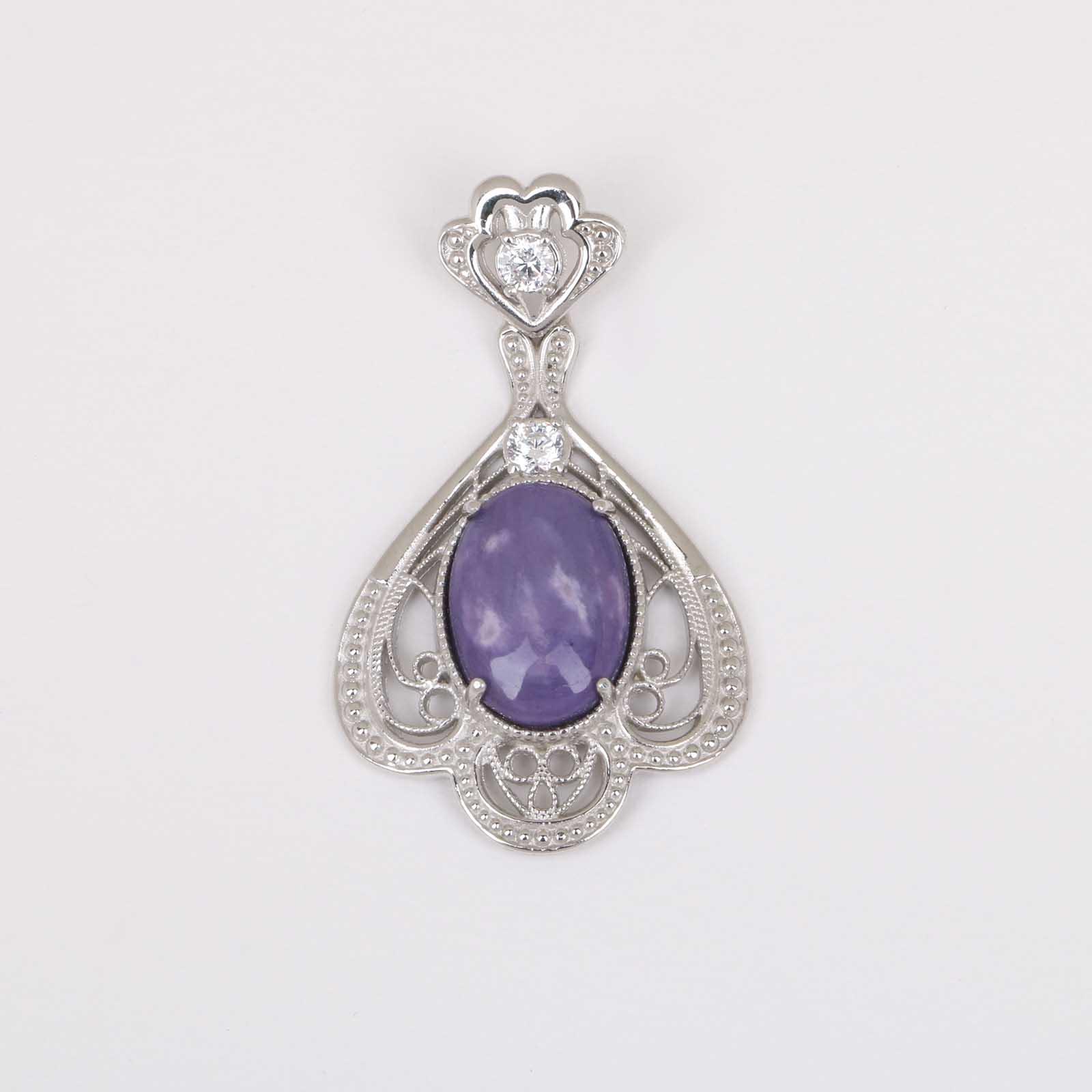 Серебряная подвеска «Очарование»