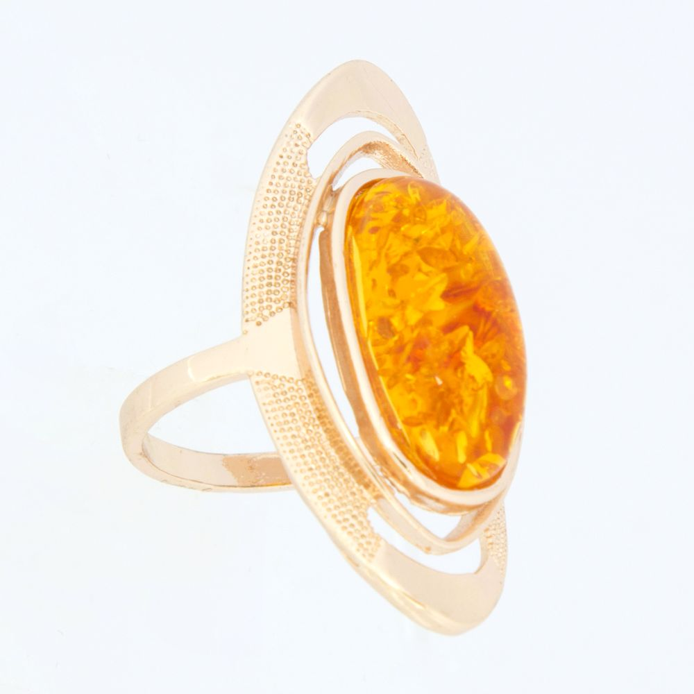 Кольцо «Янтарная лагуна»