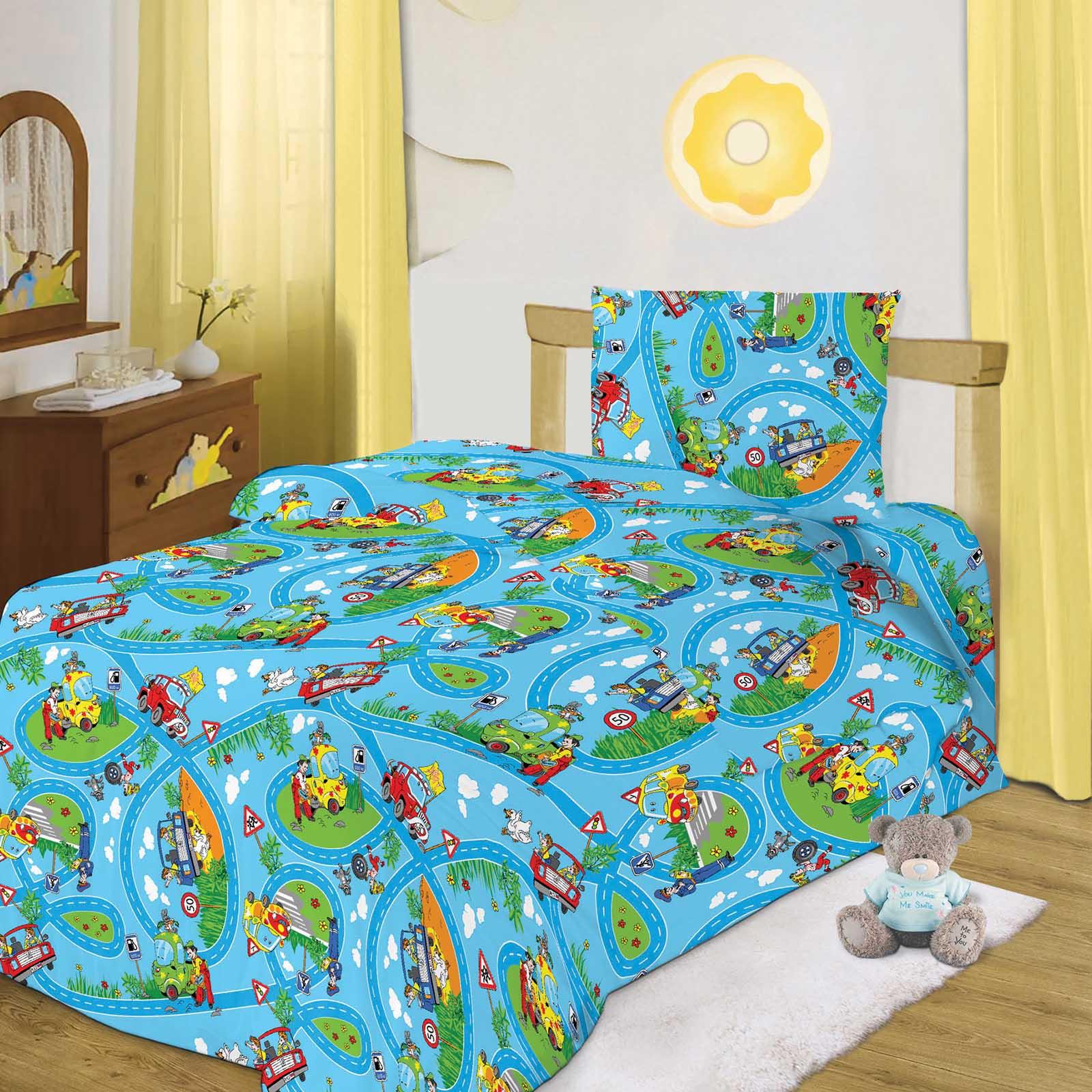 Комплект постельного белья «Светофор»