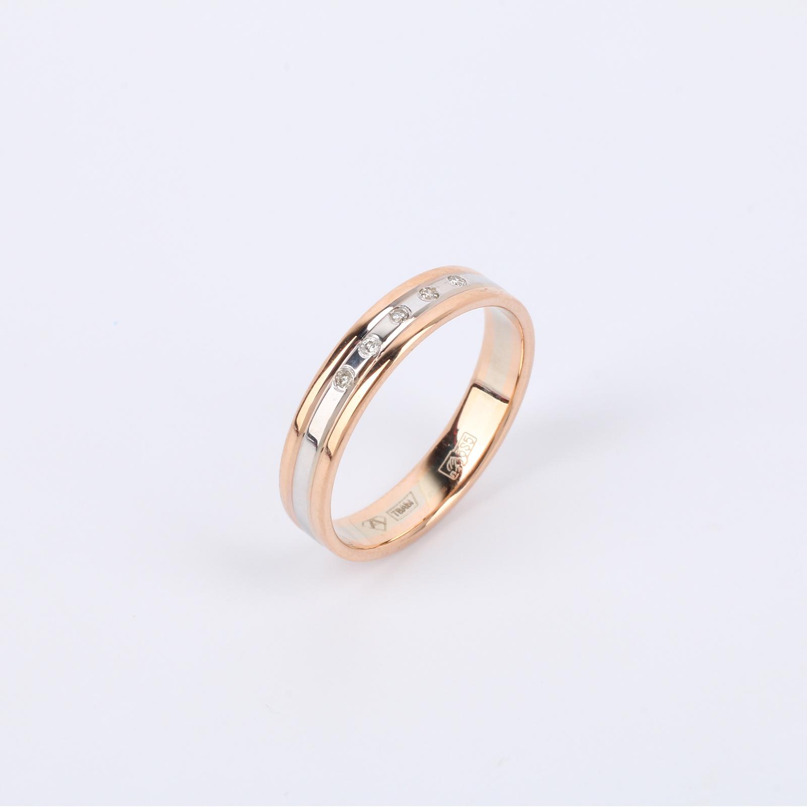 "Золотое кольцо ""Классика бриллианта"""
