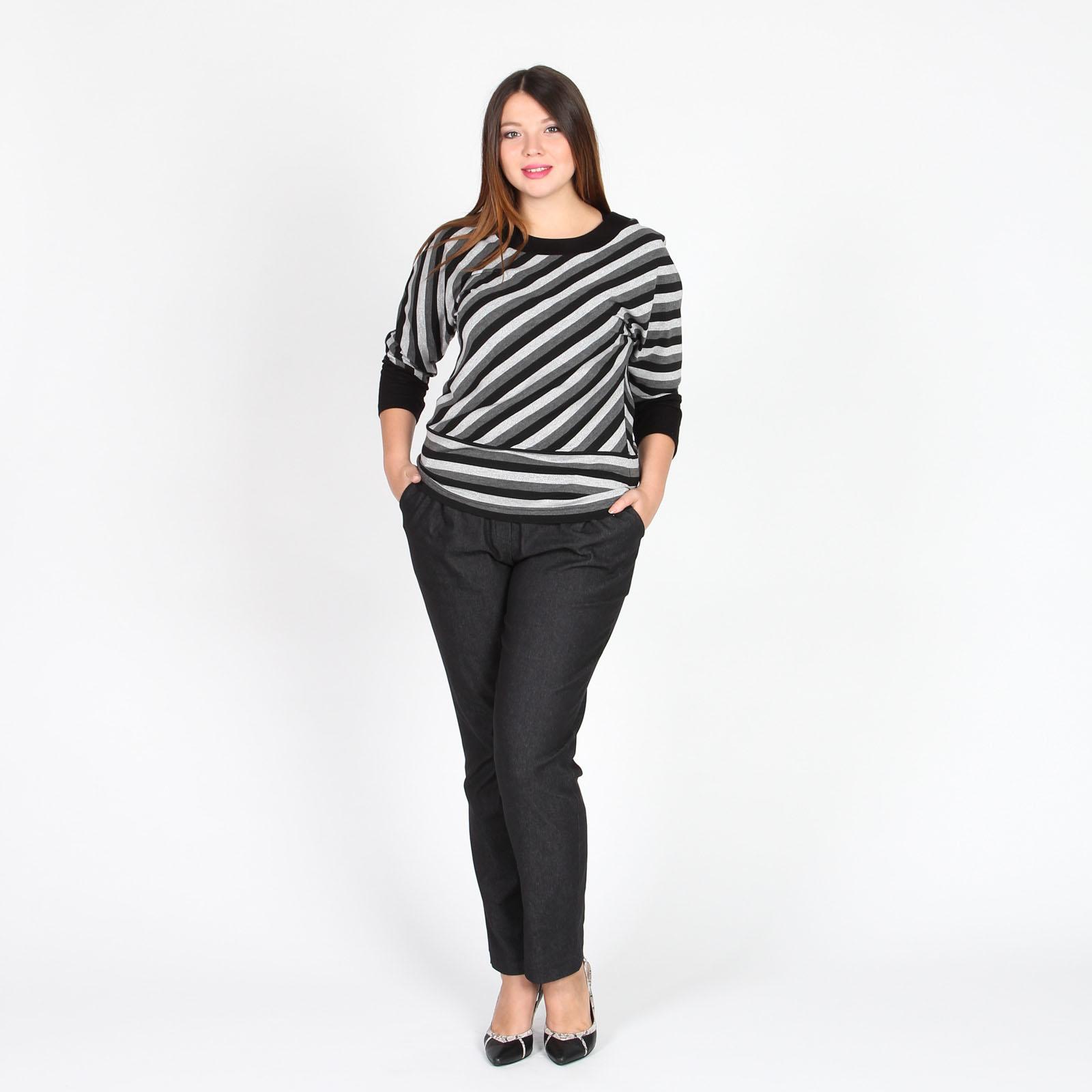 Блуза с притом «Полоска»