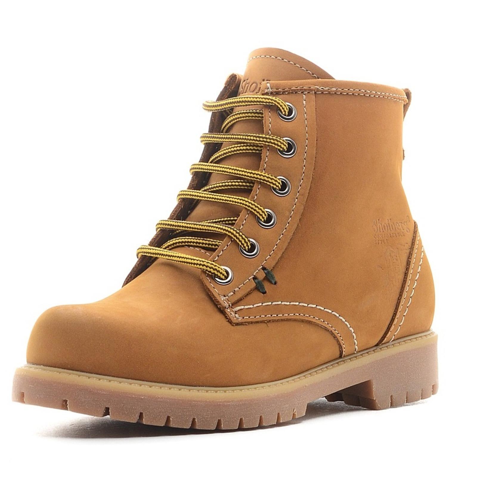 Женскиe ботинки на утолщенной подошвe мужские ботинки shoiberg