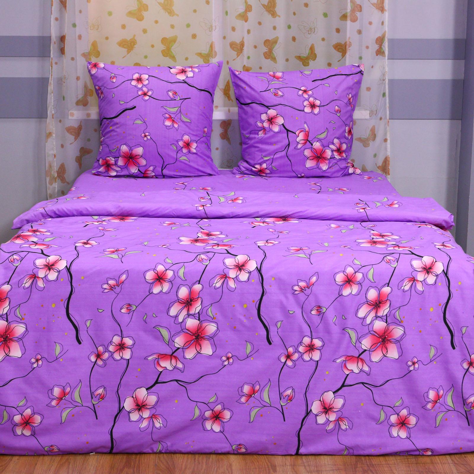"""Комплект постельного белья """"Лиловый сад"""""""