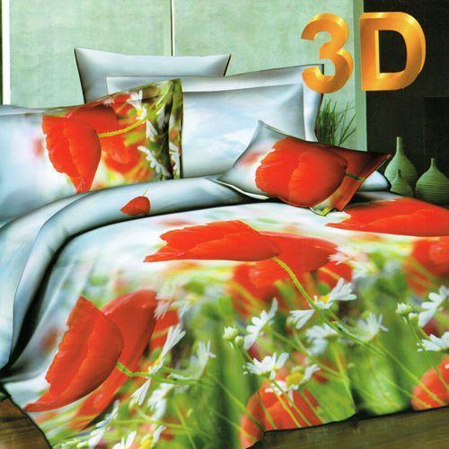 Комплект постельного белья «Маковое поле»