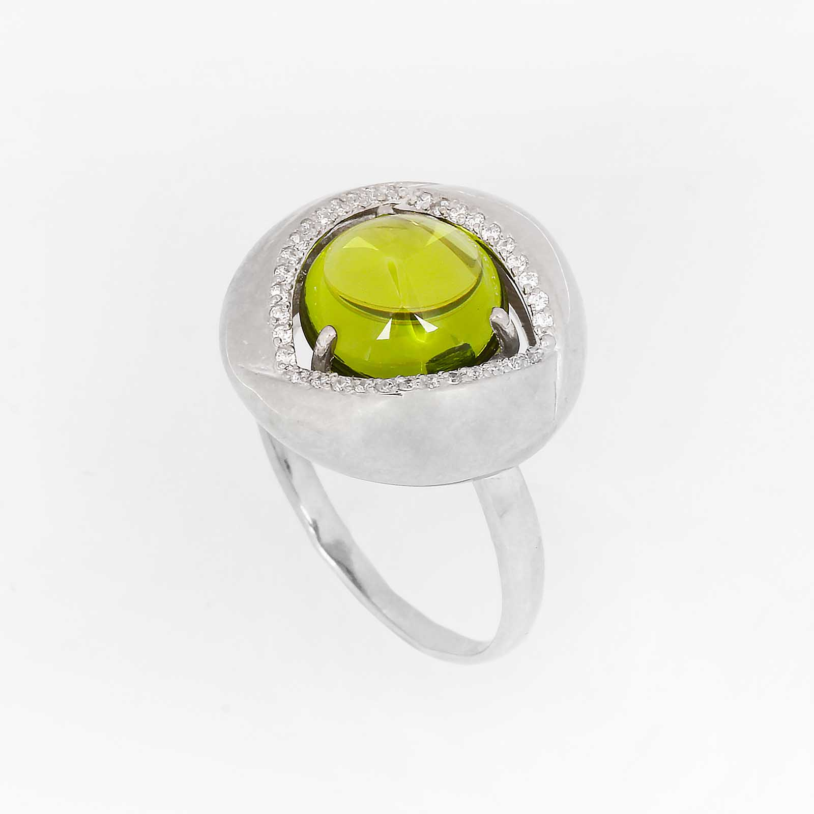 Серебряное кольцо «Признание»