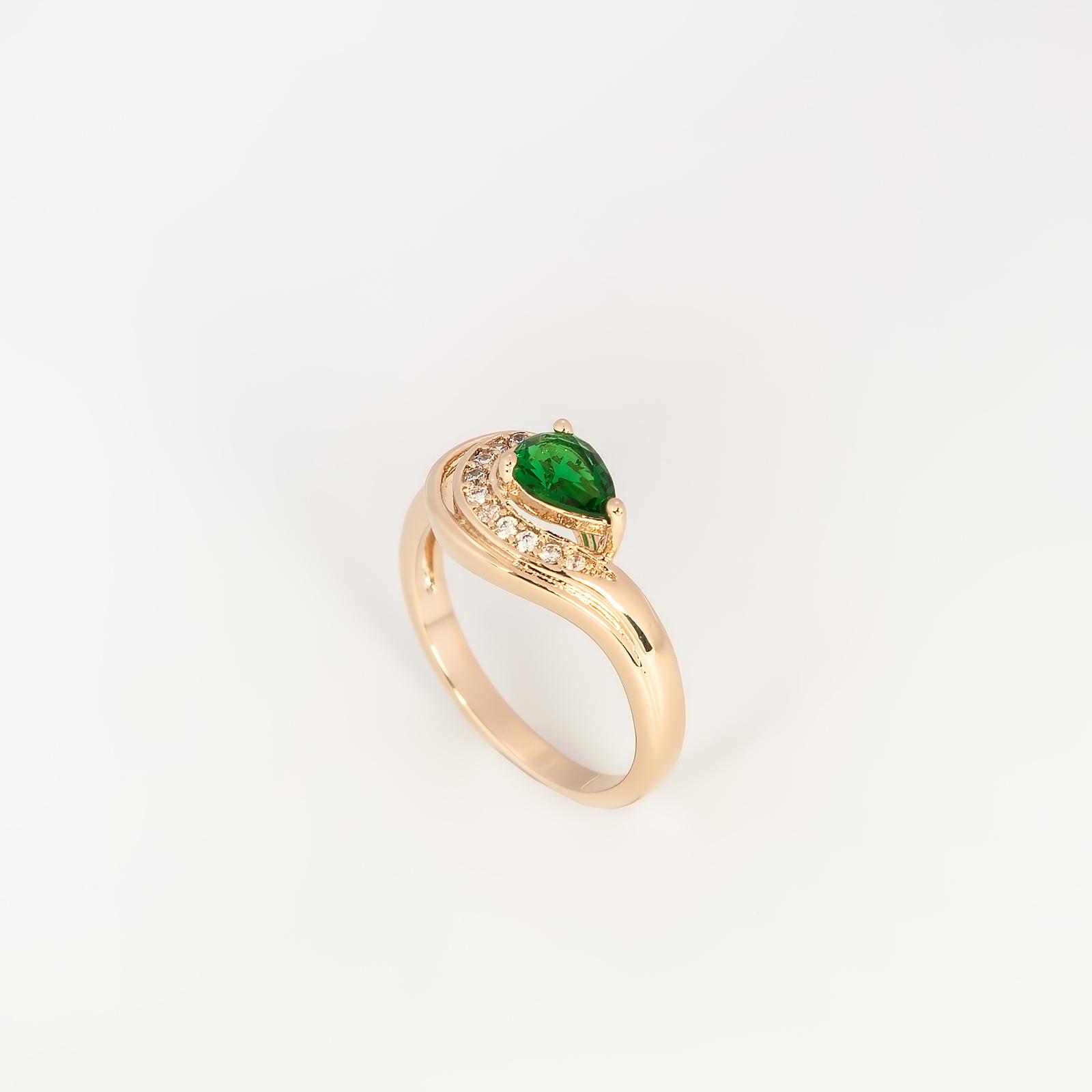 Кольцо «Капля росы»