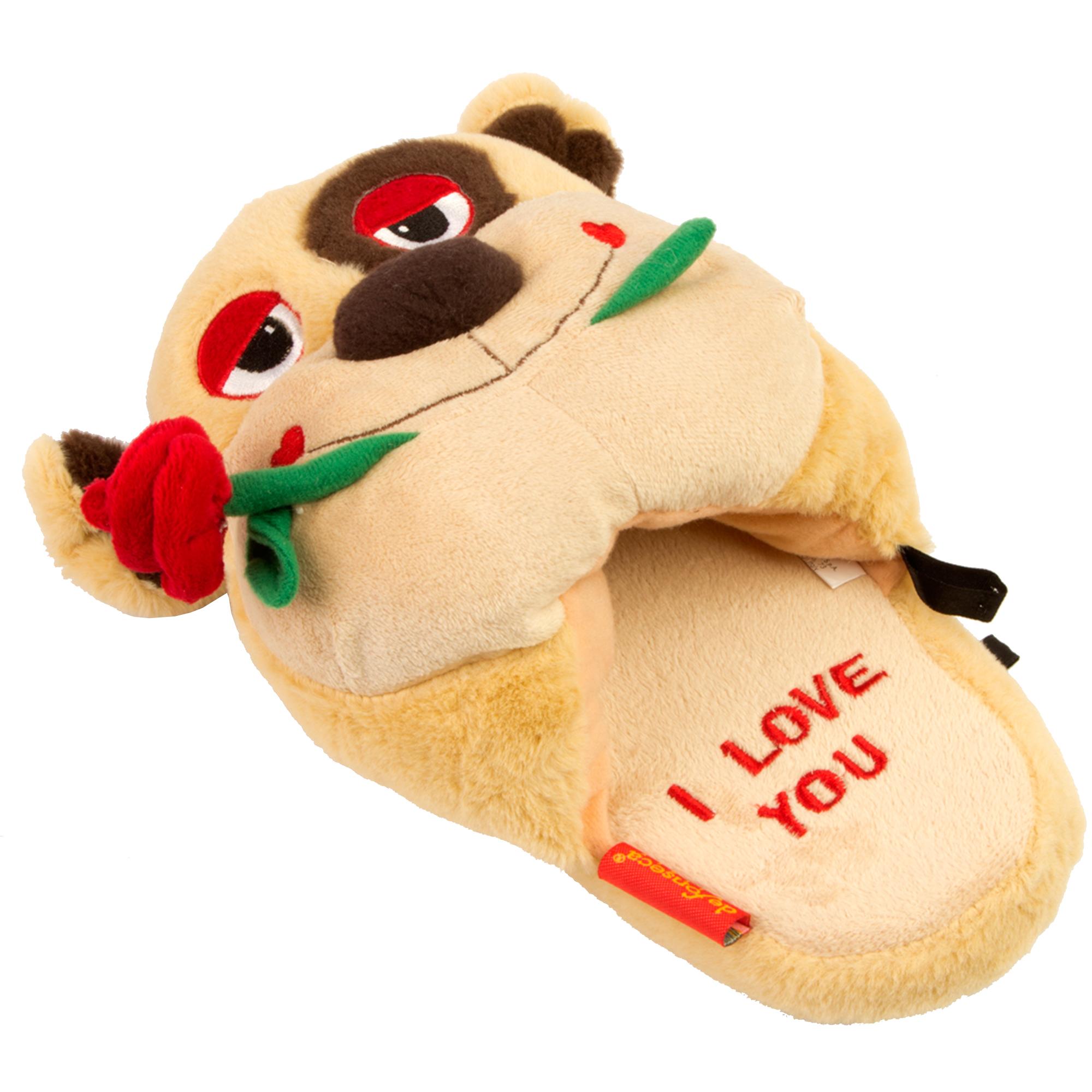 Женские тапочки «Панда I love you»