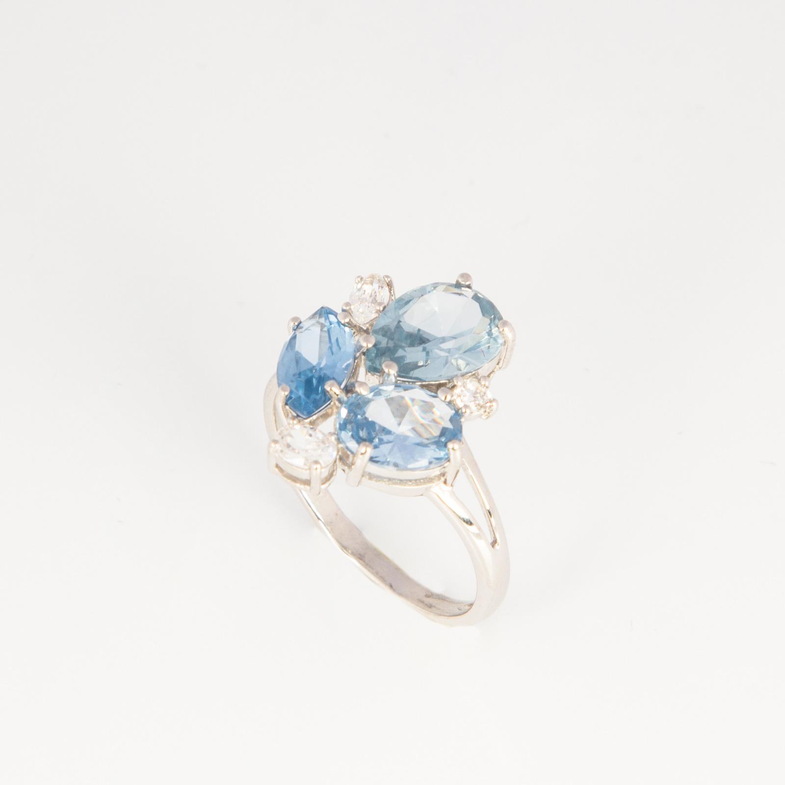 Серебряное кольцо «Фацелия»