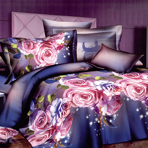 Комплект постельного белья «Синий вечер»