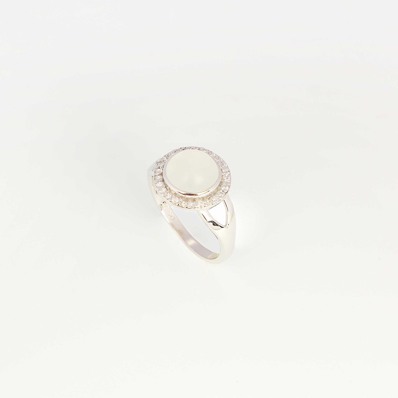 Серебряное кольцо «Лунный свет»
