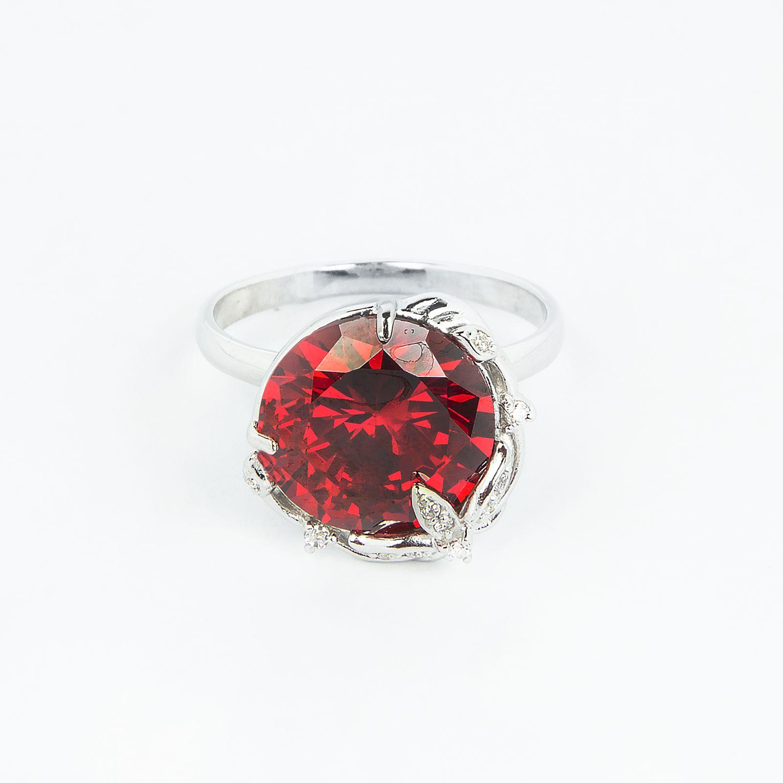 Кольцо «Красная лилия»