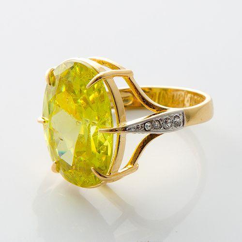 Кольцо «Сочный лайм»
