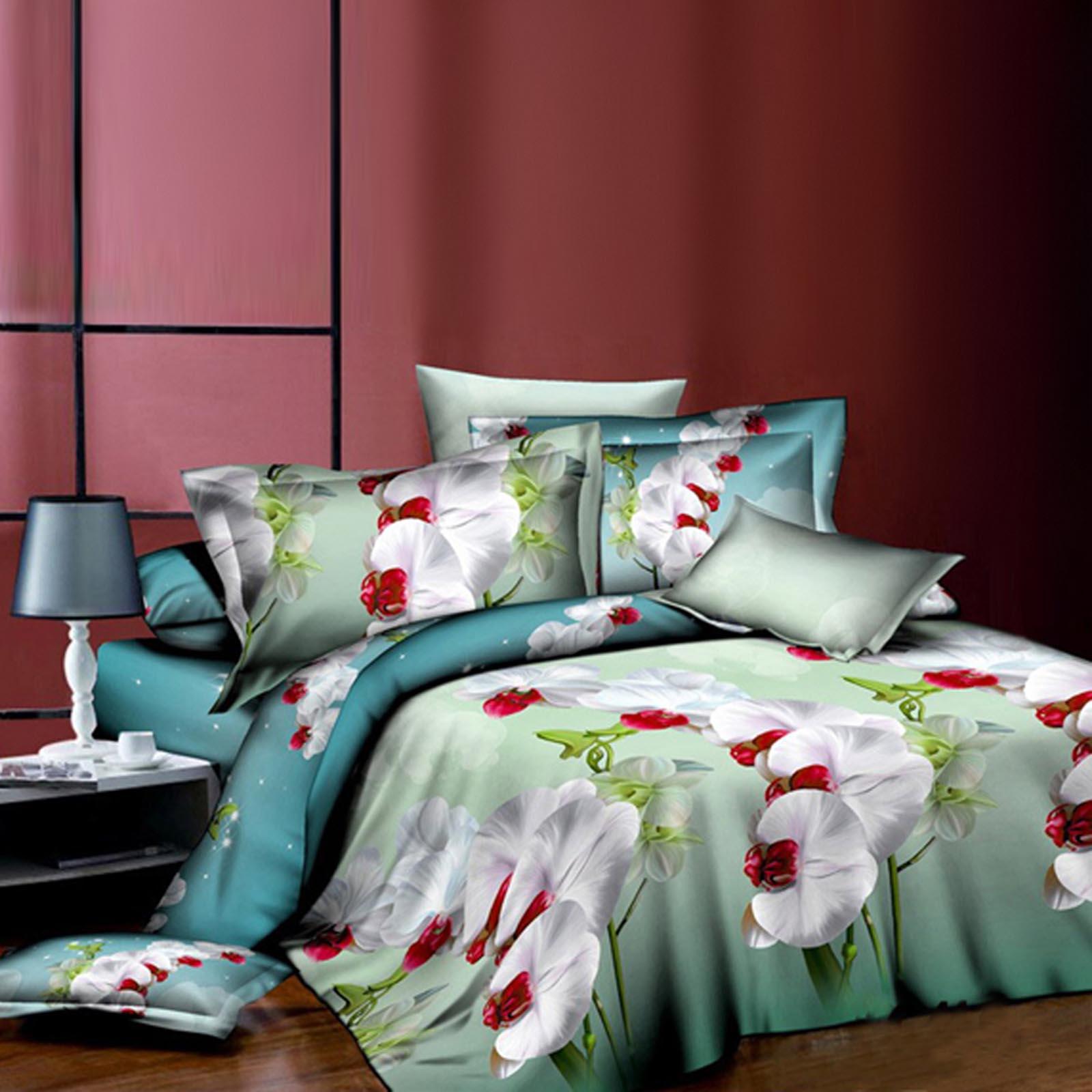Комплект постельного белья «Чарующая орхидея»