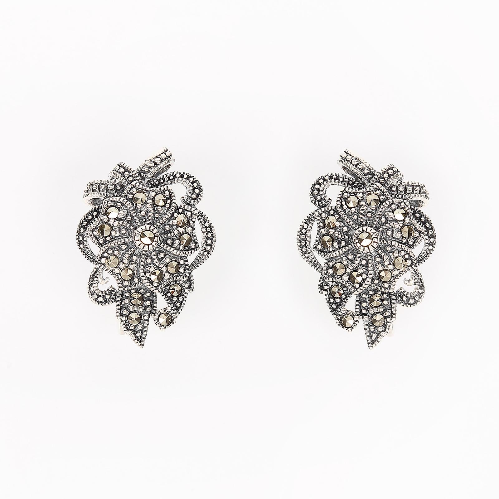 Серебряные серьги «Базиль»