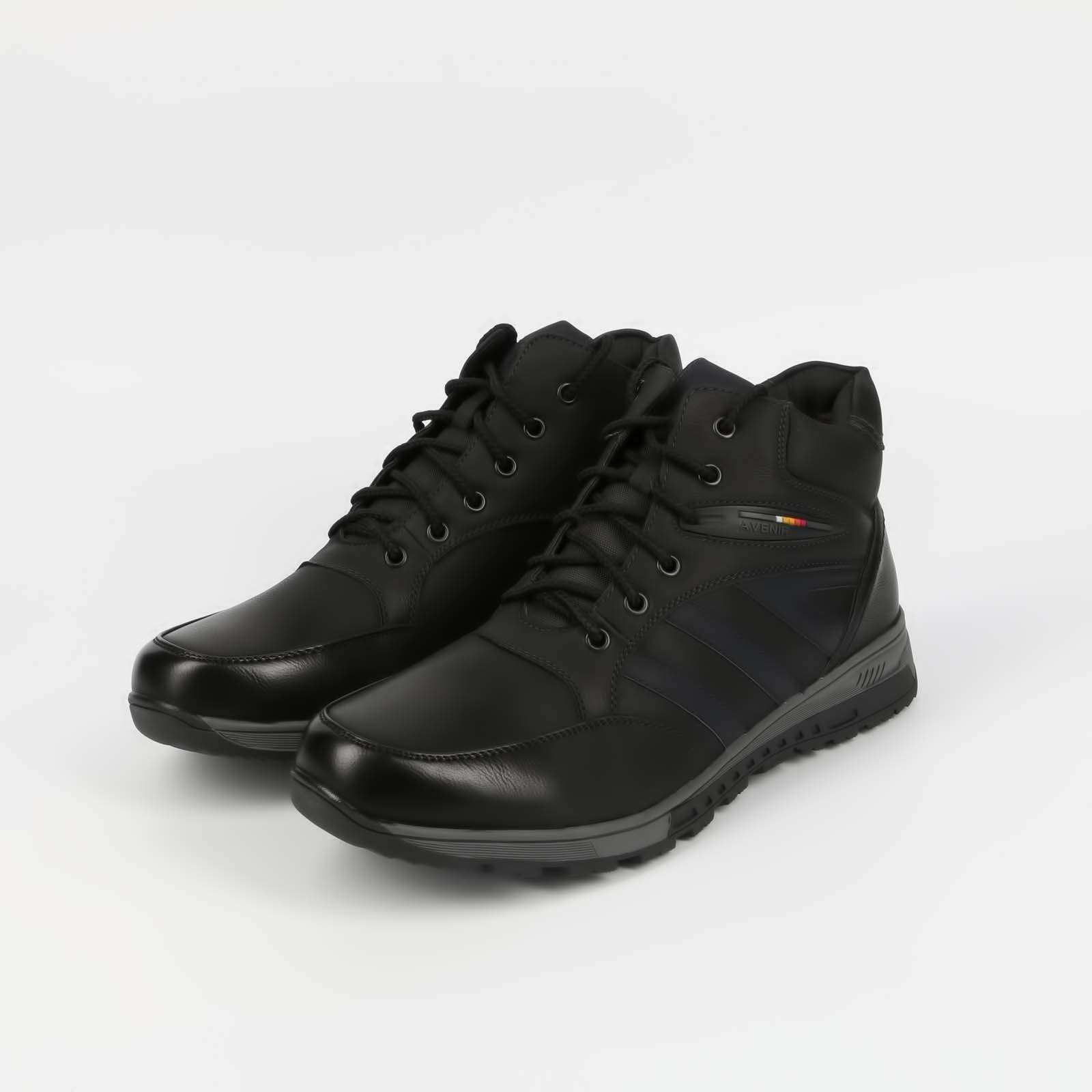 Ботинки мужские с полосками