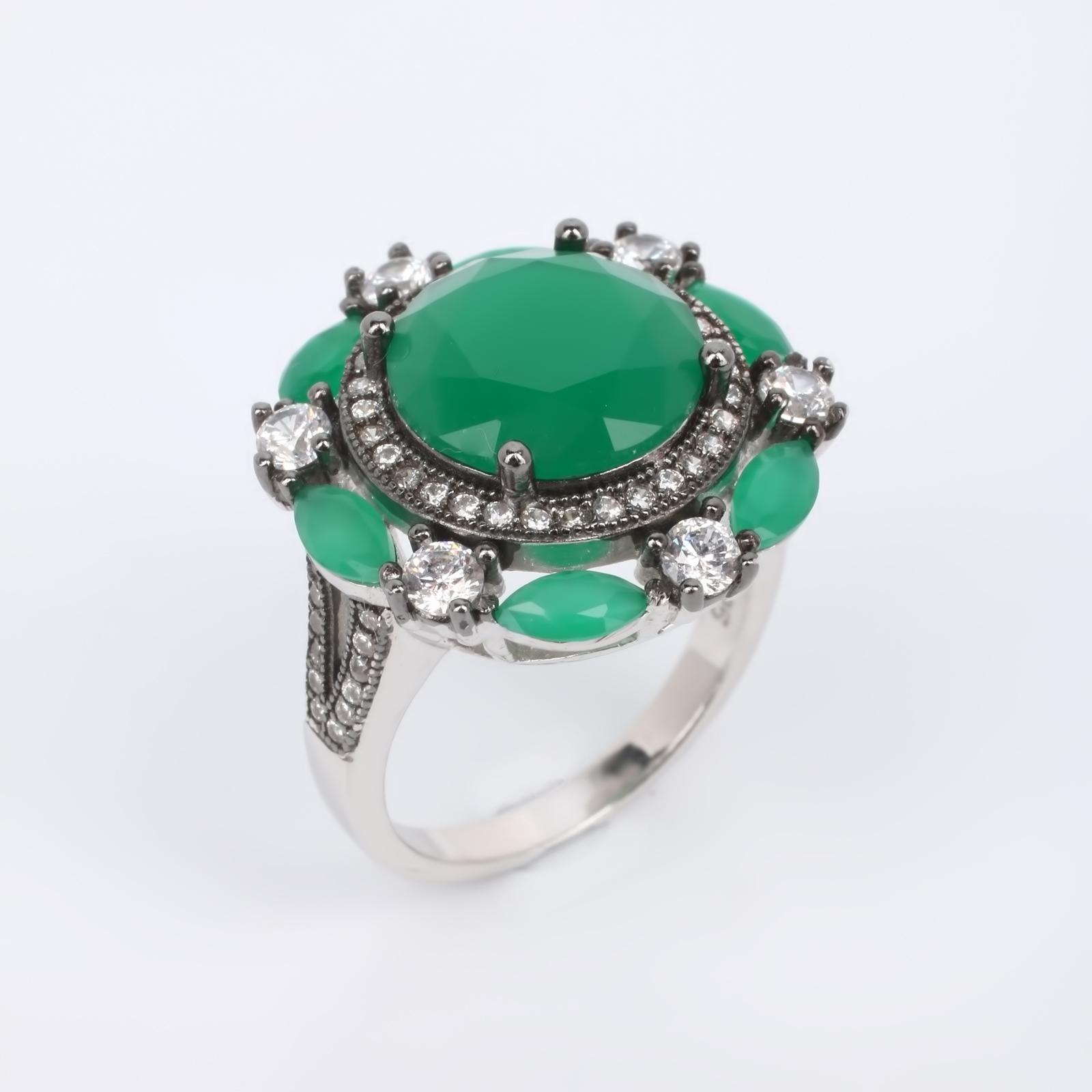 """Серебряное кольцо """"Весенний аллюр"""""""