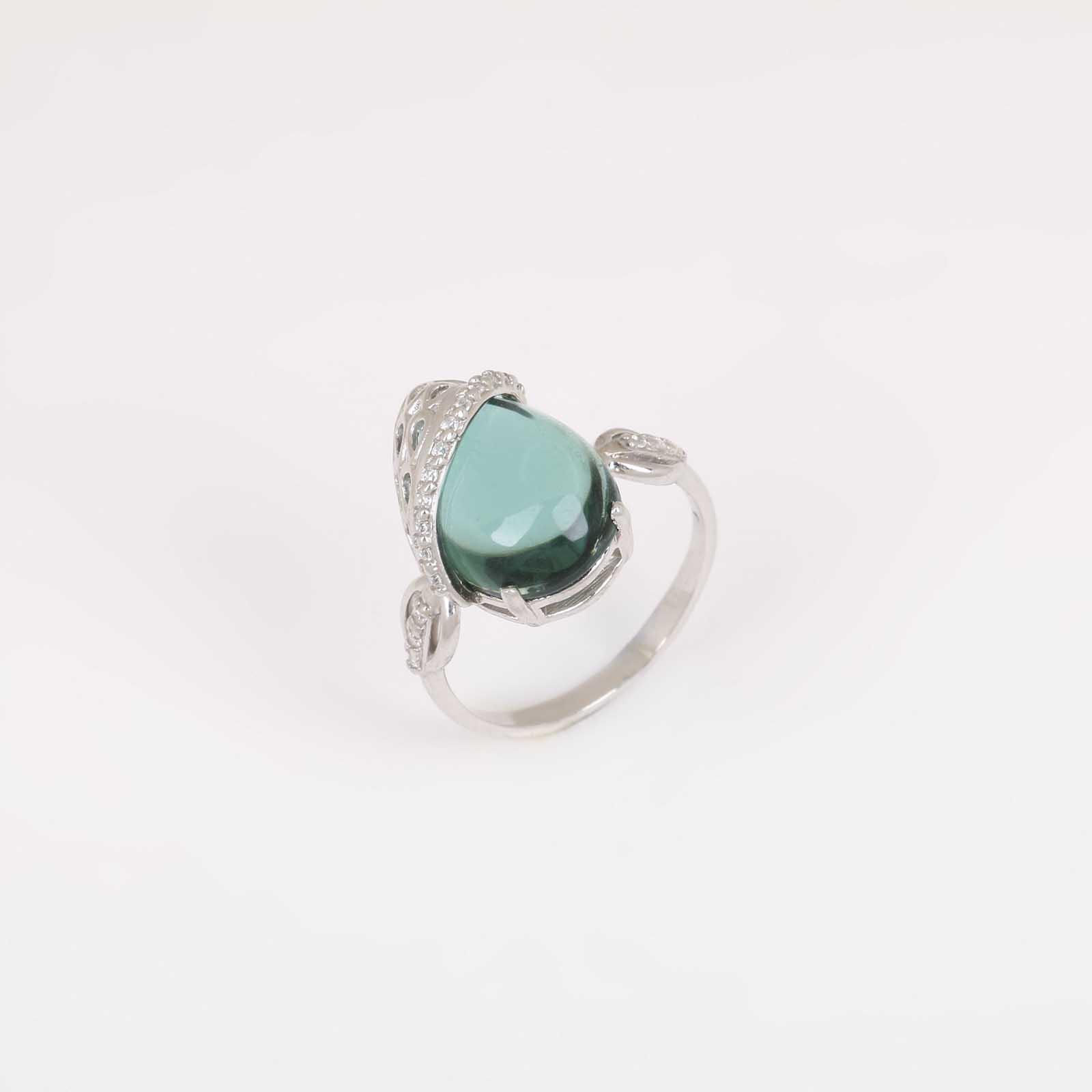 Серебряное кольцо «Разноцветная магия»