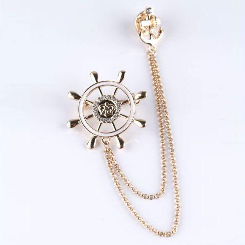 Брошь «Морская»