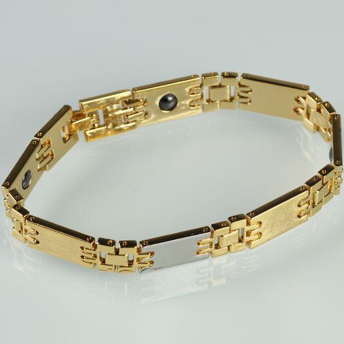 Медный браслет «Золотой узор»