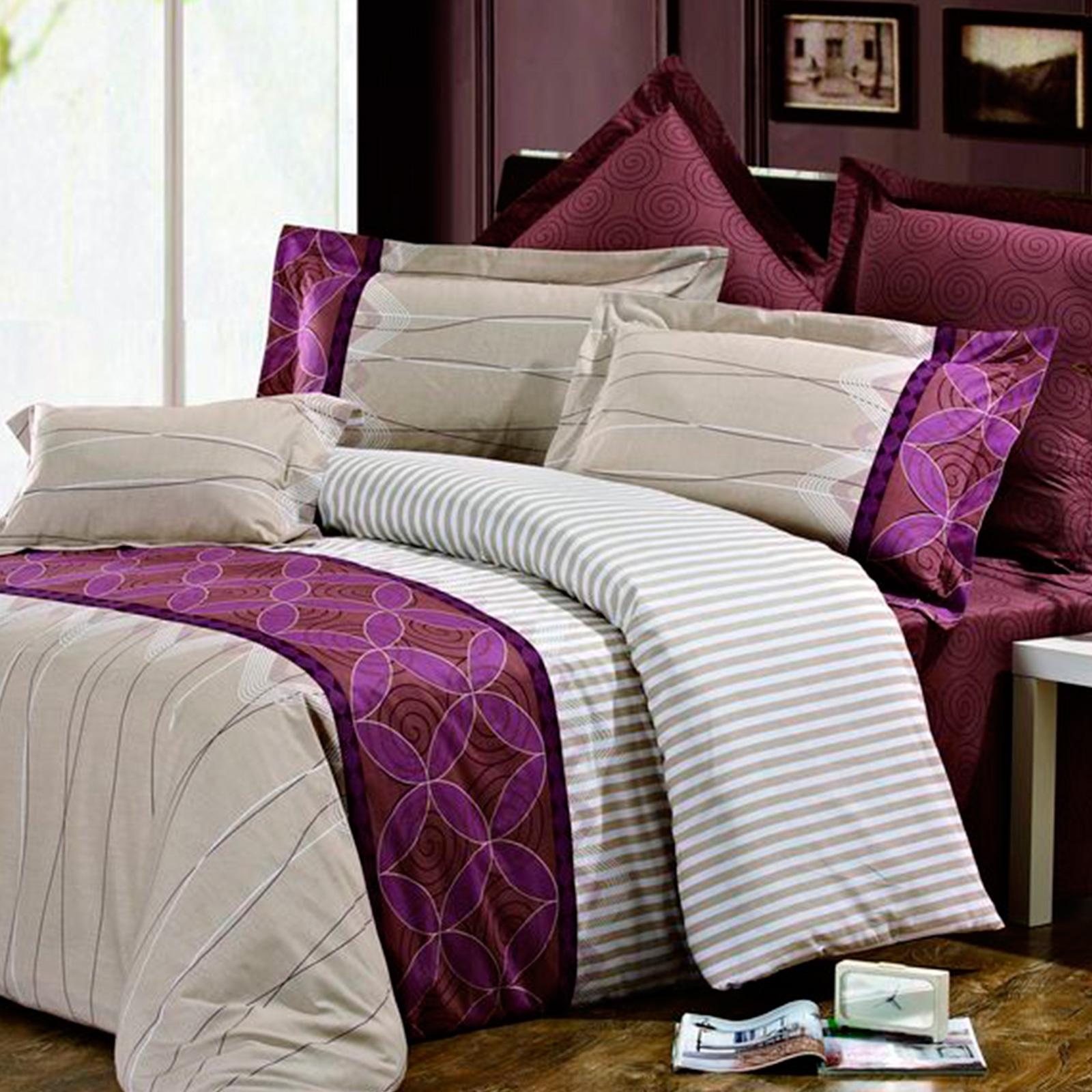 Комплект постельного белья «Лиловый элегант»