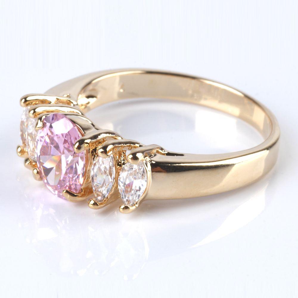 Кольцо «Розовый шик»