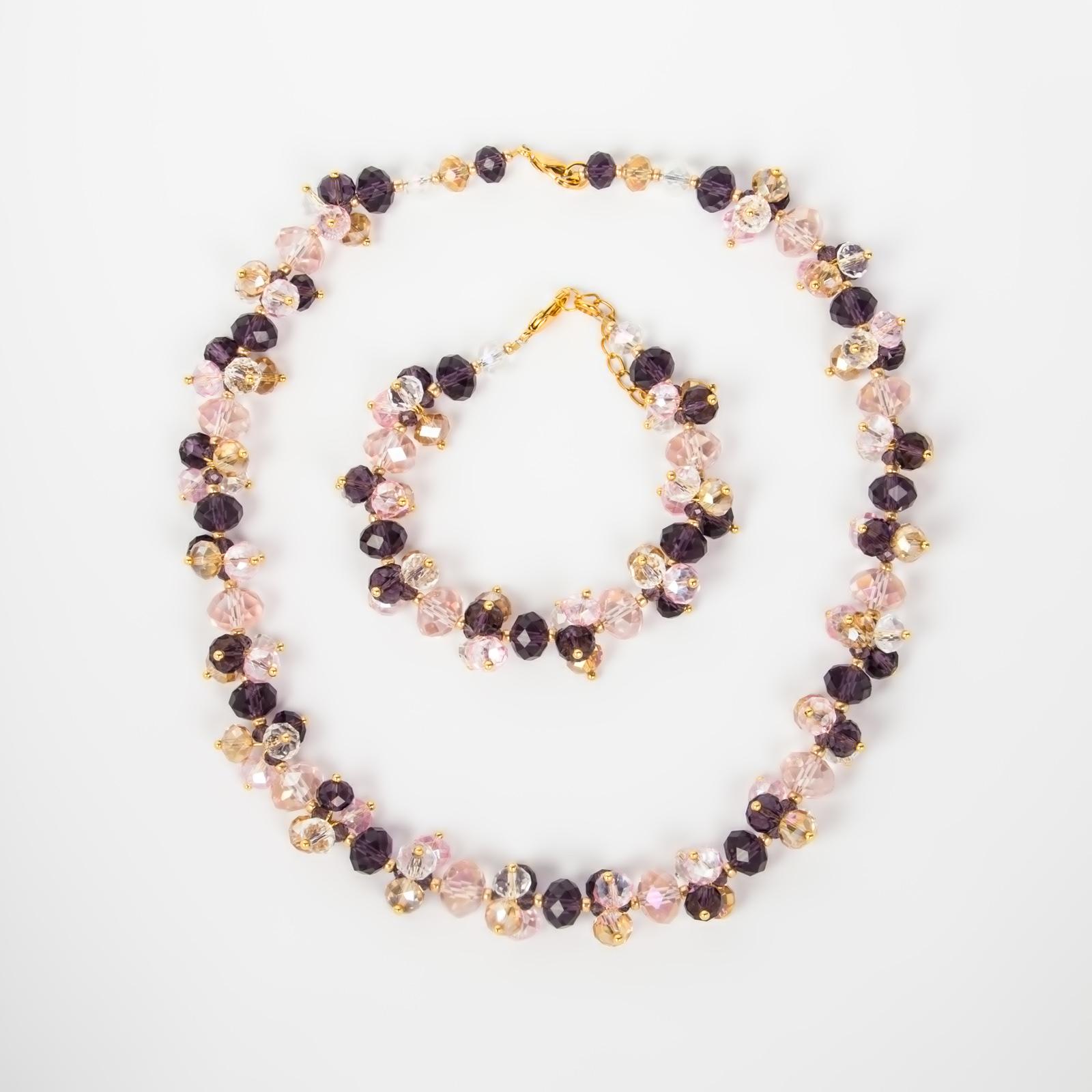 Комплект украшений «Весенний бриз» купить браслет пандора в интернет магазине оригинал
