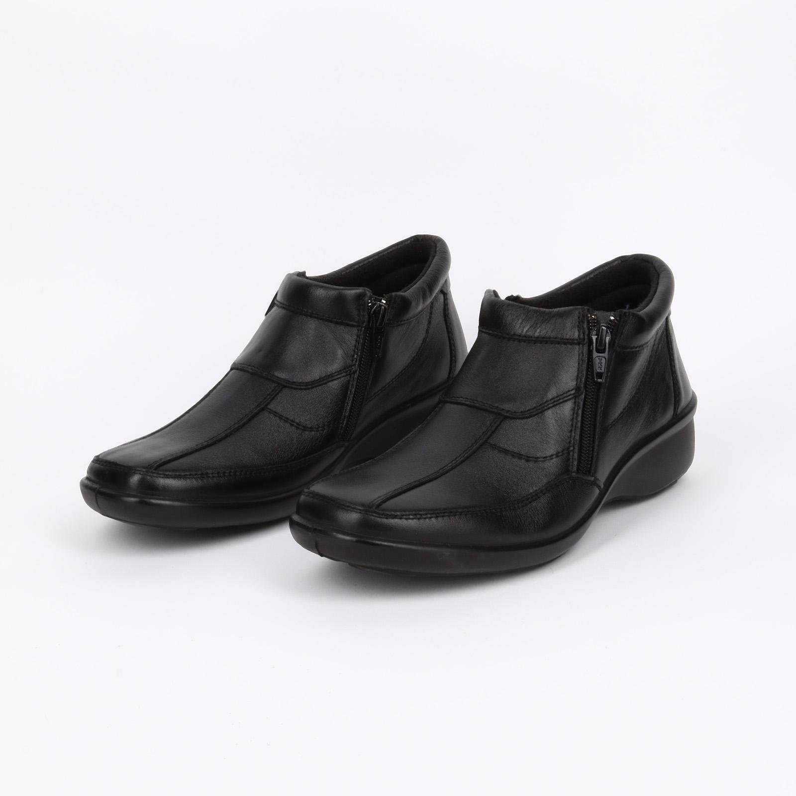 Ботинки женские с застежкой на молнии