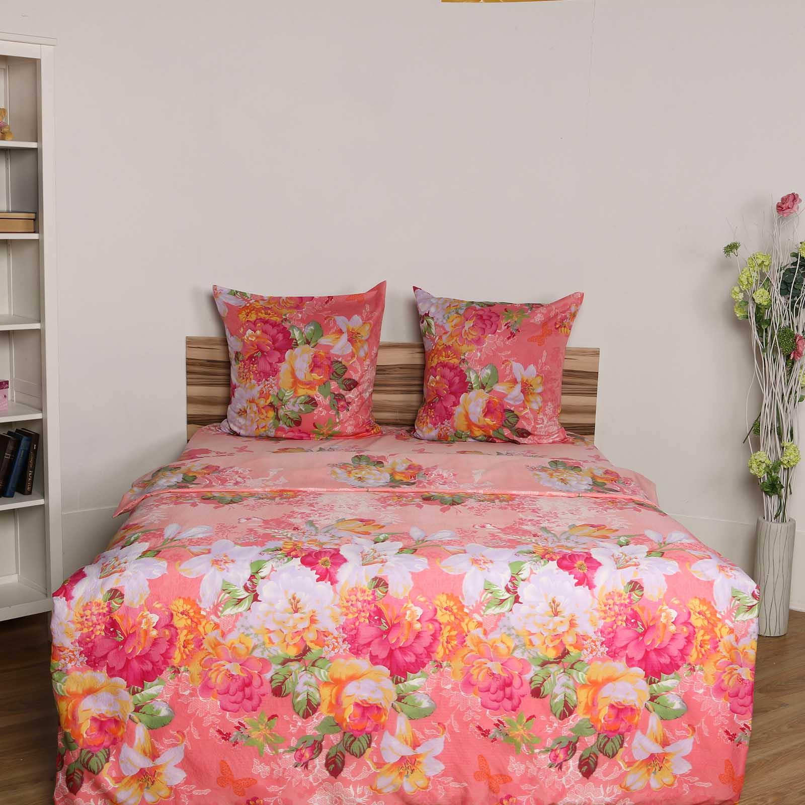 Комплект постельного белья «Пионы в саду»