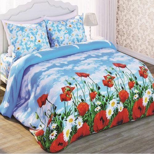 Комплект постельного белья «Солнечные маки»
