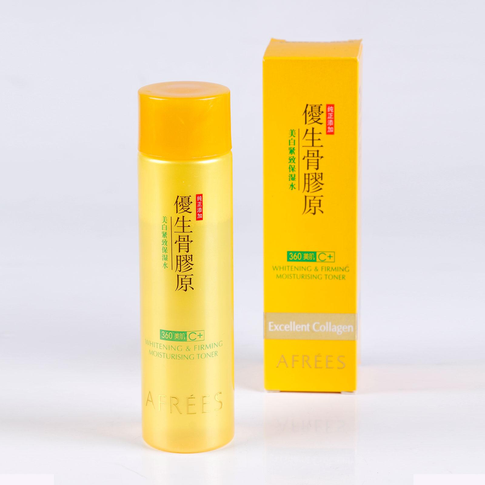 Увлажняющий и укрепляющий тоник для лица Collagen