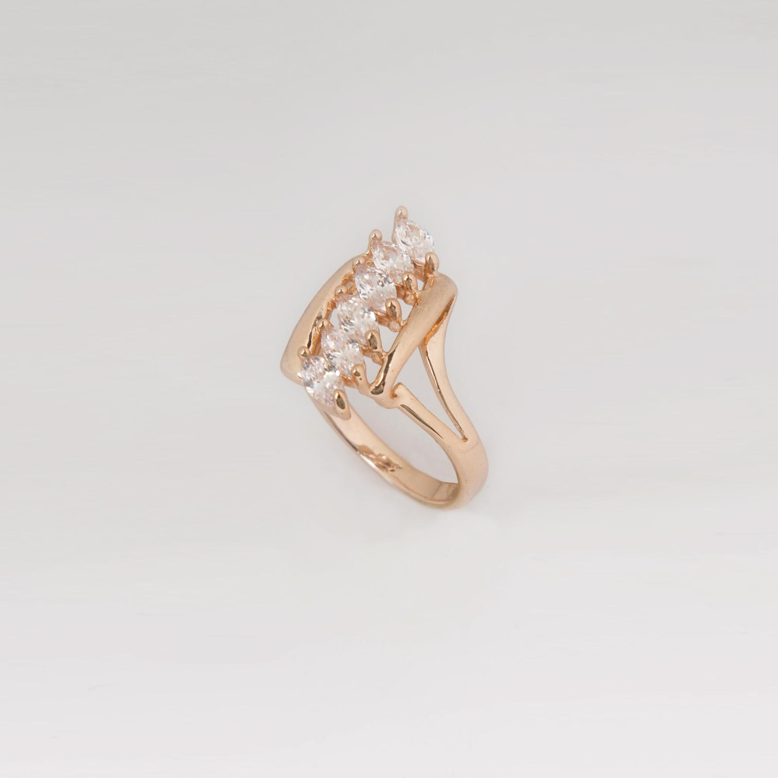 Кольцо «Бриллиантовая дорожка»