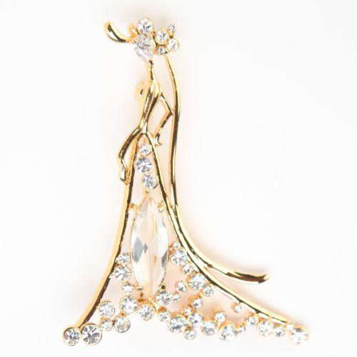 Брошь «Красивая принцесса»