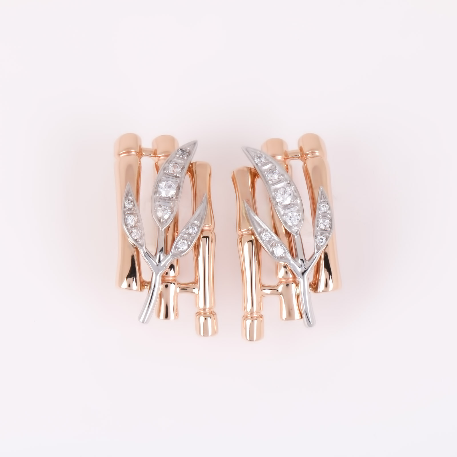 Золотые серьги «Адриана»
