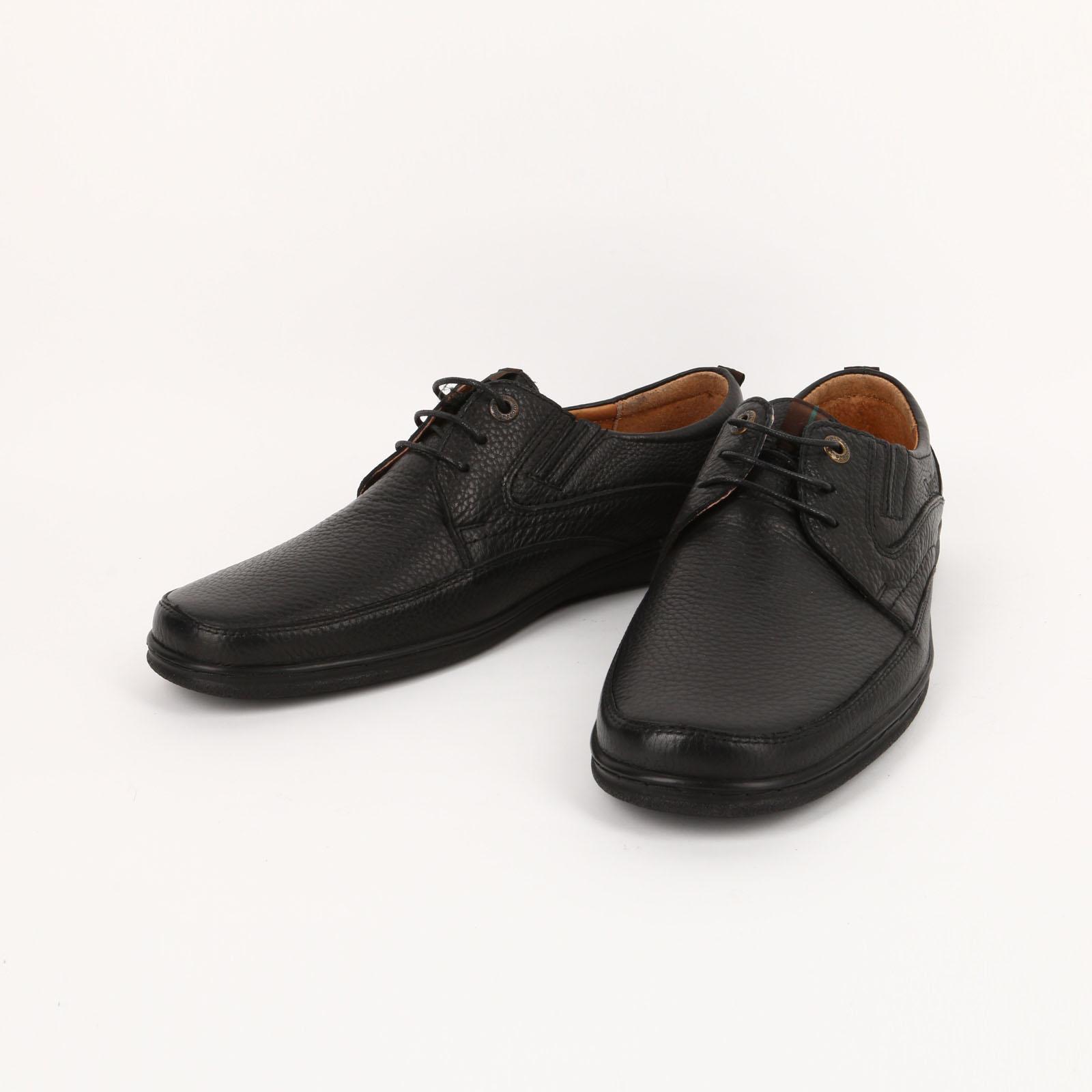 Мужские полуботинки со шнуровкой