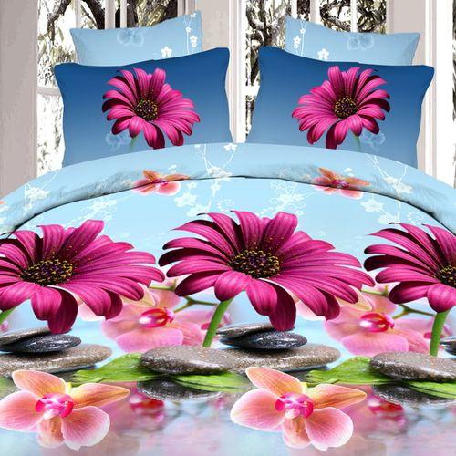 Комплект постельного белья «Изящество гербер»
