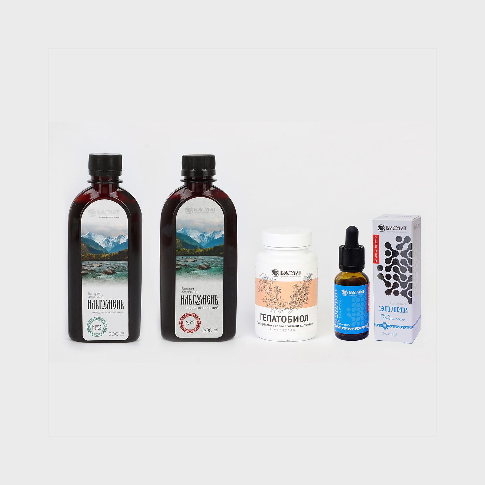 Набор Аптека Сибири 4 в 1