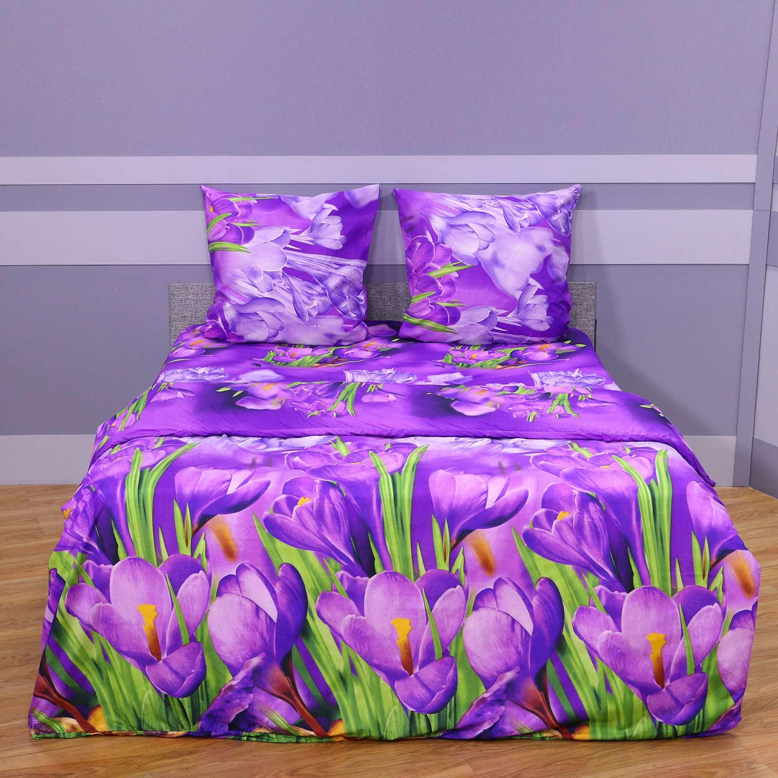 """Комплект постельного белья """"Сиреневые Цветы"""""""
