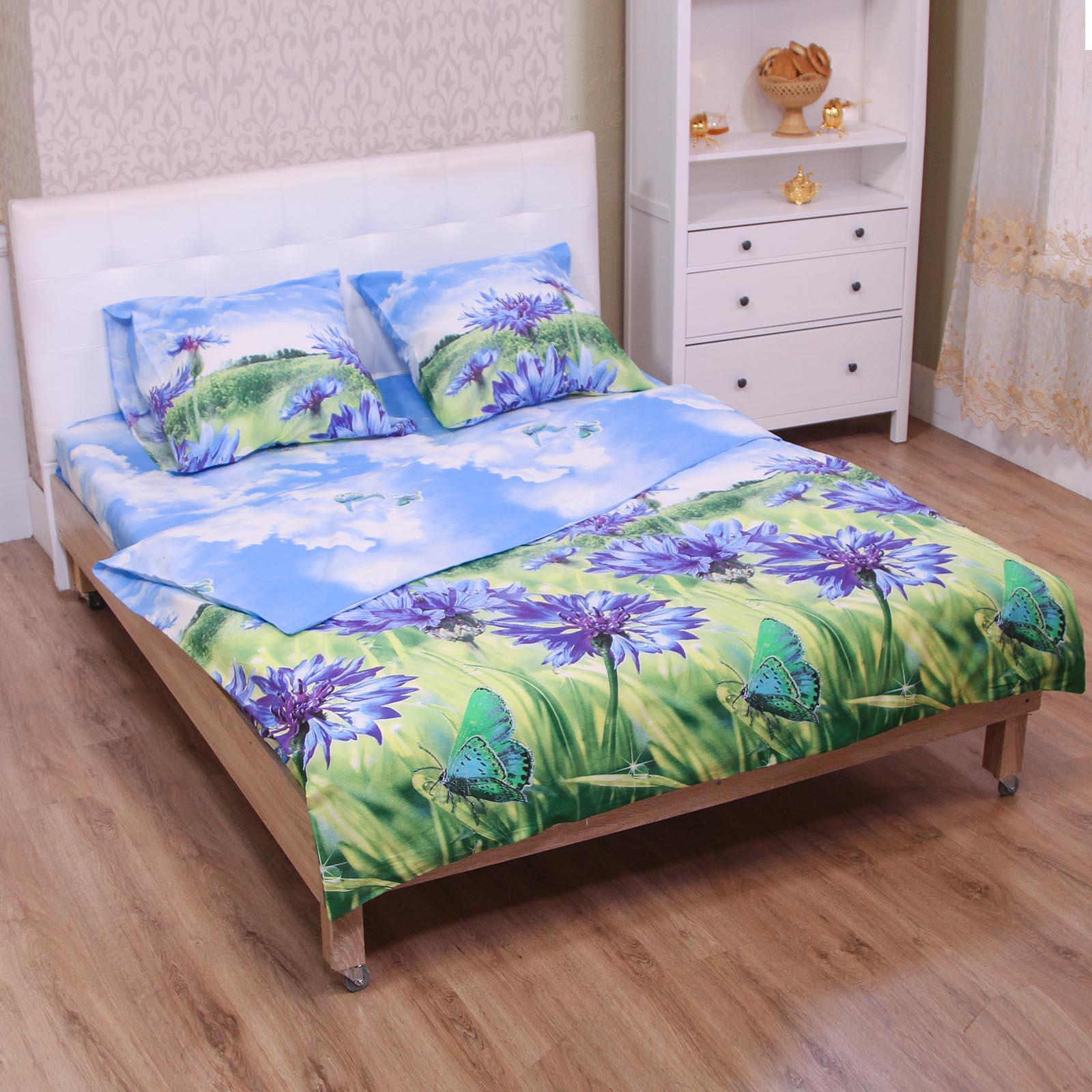 Комплект постельного белья «Полевые цветы»