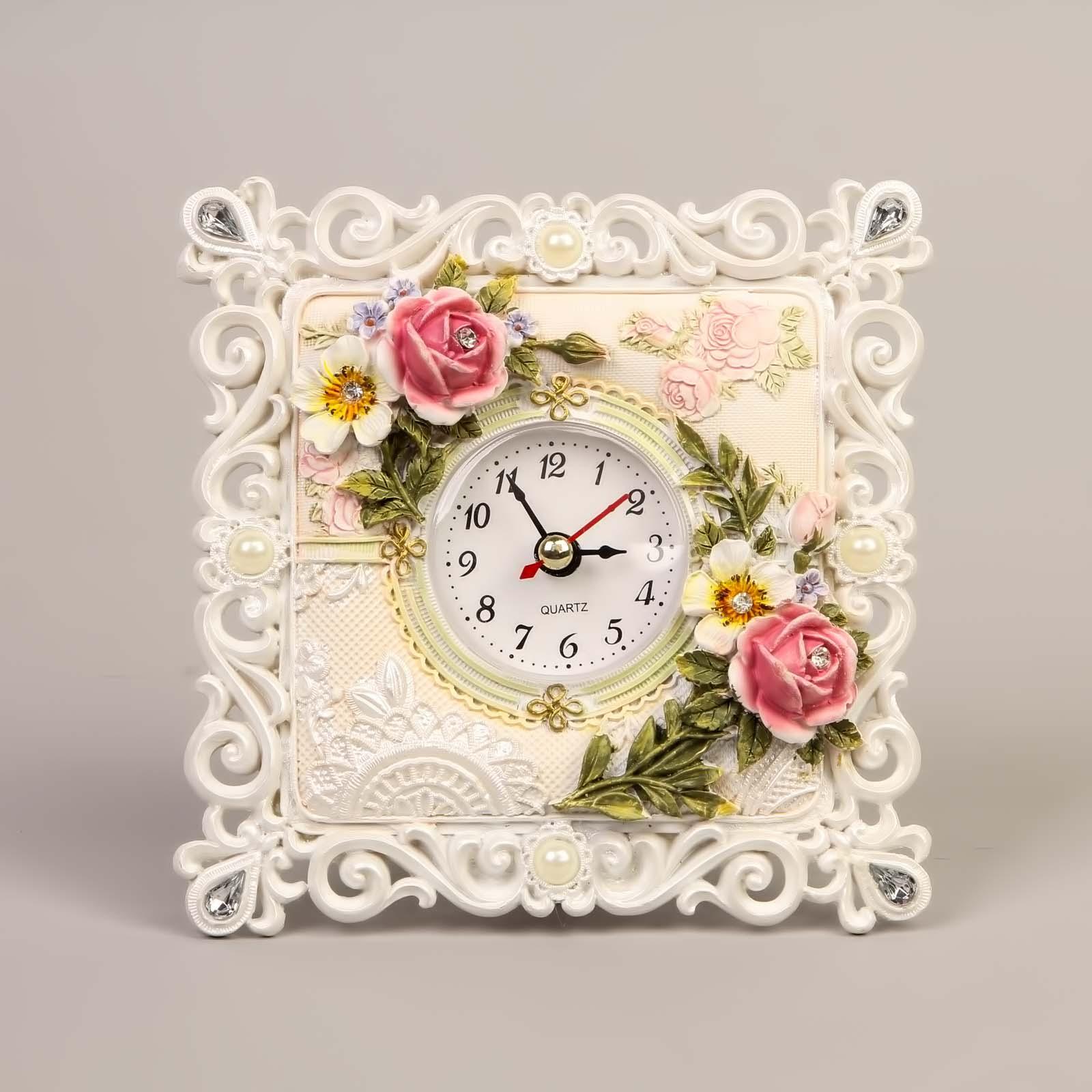 Часы «Нежный букет»
