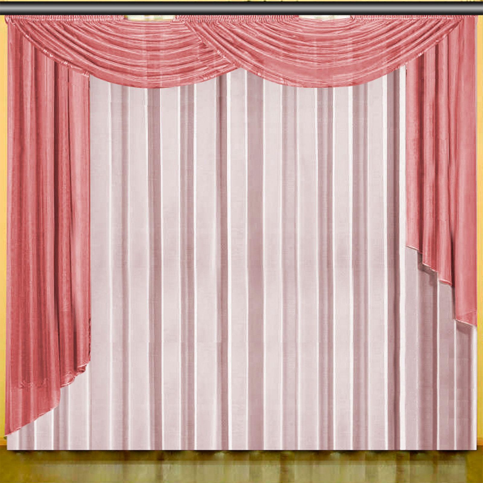 Комплект штор «Клубничный дуэт»