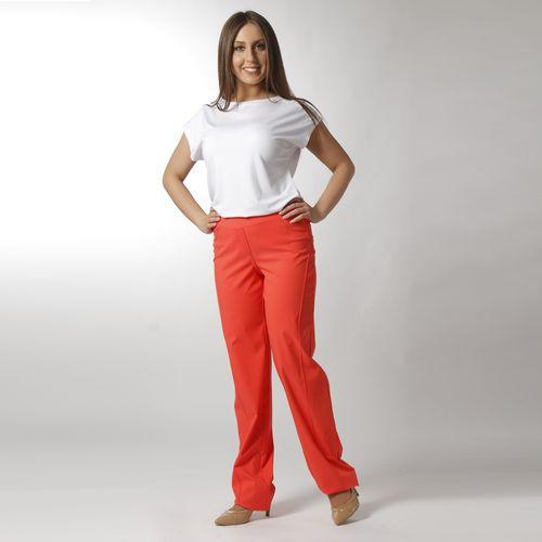 Яркие брюки на резинке